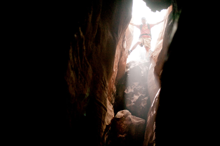 In survival mode – 127 hours